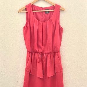 Vince Camuto Coral Sleeveless Pepulm Dress